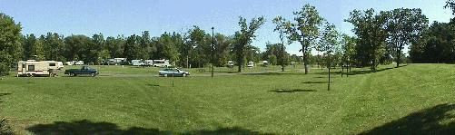 Memory park camping grounds.